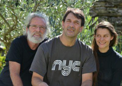 Jacques Bernard, Jean-Sébastien Simonoviez, Clara Simonoviez
